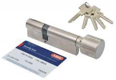 Cylinder lock Abus Pfaffenhain Standard 30K / 30 with knob, nickel (5