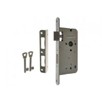 Mortise Lock ZW100 90/50, BB Galvanized Silver