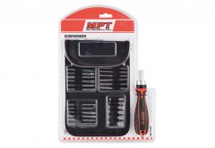 Drill Bits Set MPT with holder, 26 bits in case MHA01008