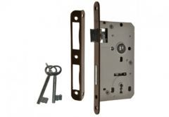 Mortise Lock 90/50, BB with lever and 2x keys