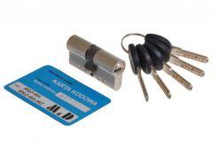 Cylinder lock MD-WA nickel certificate C 6.0 class.2. 30/50