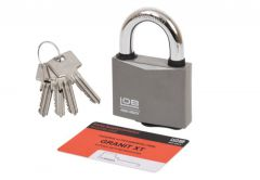 LOB GRANIT-1 STEEL KWG1 Padlock Certificate  4.3 class