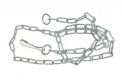 Dog Chain 3 - Galvanized
