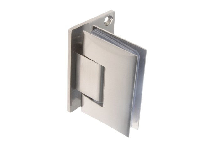 Hinge For Shower Cabins Wall Glass TD 68G 1 90 Stopni 8 12 Mm Satin